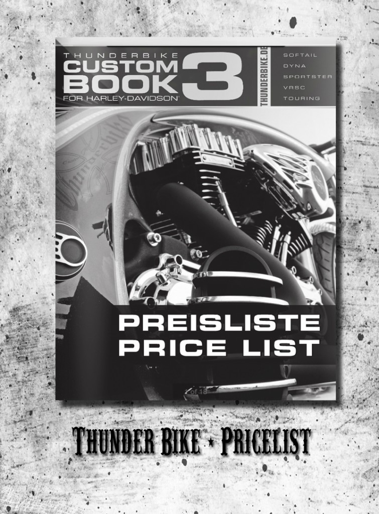 Thunderbike - Price List